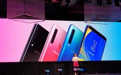 Samsung Galaxy A9 (2018) ra mắt: smartphone đầu tiên trên thế giới có 4 camera sau