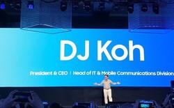 Sếp lớn Samsung khẳng định smartphone màn hình gập sẽ được hé lộ vào tháng tới, năm sau mới lên kệ