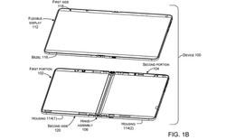 Surface Phone của Microsoft sử dụng 1 màn hình gập được thay vì 2 tấm riêng biệt