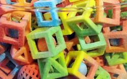 Các nhà khoa học tạo ra được máy in 3D in ra được thức ăn