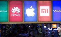 Thị trường smartphone Trung Quốc suy giảm kỷ lục trong Q3/2018