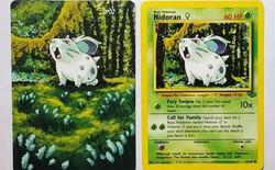 Biến thẻ bài Pokémon cũ kỹ thành tranh hoạt hình đầy màu sắc, người nghệ sĩ tài ba này đang khiến internet phải mê mẩn