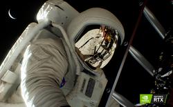 NVIDIA dựng lại toàn bộ cảnh đặt chân lên Mặt Trăng bằng công nghệ mới trên card RTX