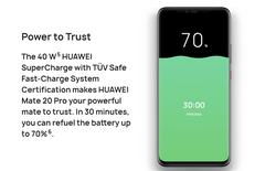 Thử nghiệm thực tế sạc siêu tốc 40W trên Huawei Mate 20 Pro: đầy pin trong 68 phút