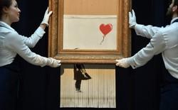 """Tác giả của bức tranh 1,1 triệu USD tự hủy tại phiên đấu giá: """"Đáng lẽ phải cắt hết rồi"""""""