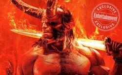 """Tung poster cực """"nóng"""", Hellboy hứa hẹn thiêu đốt màn ảnh vào năm 2019"""