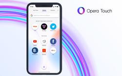 Opera Touch cho iOS chính thức ra mắt, giải pháp tuyệt vời cho những ai tay nhỏ nhưng lại dùng iPhone màn hình lớn