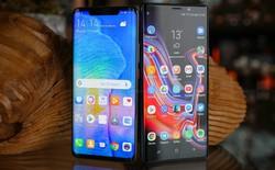 Cuộc chiến khuyến mãi ở phân khúc 20 triệu: Mua Galaxy Note9 tặng TV, mua Huawei Mate 20 tặng đồng hồ 6,5 triệu