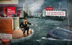 Khi công nghệ thực tế ảo tăng cường (AR) ứng dụng sâu vào các bản tin thời tiết, con người sẽ ngày càng biết sợ thiên tai hơn nữa