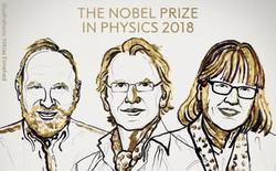 [Giải Nobel 2018] Hai nghiên cứu về tia laser kéo dài nhiều thập kỉ đã nhận được giải Nobel Vật lý 2018