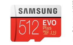 Samsung ra mắt thẻ nhớ microSD 512 GB, giá tương đương một chiếc smartphone tầm trung