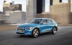 Mẫu SUV Audi E-tron chạy điện sẽ dùng màn hình OLED của Samsung làm gương chiếu hậu