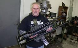 Khám phá khẩu súng độc nhất vô nhị AR-15, làm từ ba khẩu súng ghép lại thành một