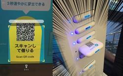 Nhật Bản ra mắt dịch vụ cho thuê sạc dự phòng tự động với giá 22.000 đồng, có sẵn cáp cho đủ loại thiết bị