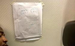 Nhật Bản: Hành khách đòi ghế cạnh cửa sổ, tiếp viên hàng không liền vẽ cho một cái