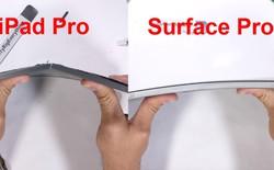 Surface Pro 6 sống sót sau màn thử nghiệm độ bền, không bị bẻ làm đôi như iPad Pro 2018