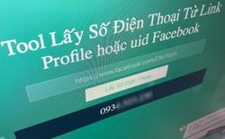 Xuất hiện công cụ cho phép lấy số điện thoại từ bất kỳ profile Facebook nào, kể cả khi số điện thoại không được công khai