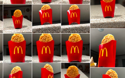 Thanh niên Mỹ trở thành ngôi sao Twitter sau khi say xỉn rồi chụp ảnh bánh khoai tây của McDonald's lúc 4h sáng