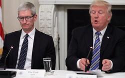 Chỉ một câu nói đe dọa của Tổng thống Donald Trump đã khiến Apple lao đao, cổ phiếu tụt dốc