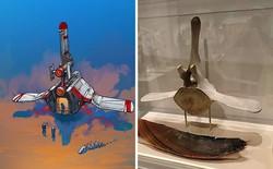 Nghệ sĩ này biến những đồ vật bình thường nhất thành tàu vũ trụ với thiết kế đậm chất viễn tưởng