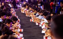 Huy động được 559 người đập hộp OnePlus 6T cùng lúc, OnePlus được ghi vào sách kỷ lục Guinness