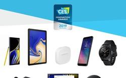 Galaxy Note 9 cùng loạt sản phẩm Samsung đạt giải Thiết kế Ấn tượng tại CES 2019 Innovation Awards