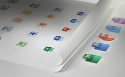 Bộ phần mềm Microsoft Office chuẩn bị thay đổi icon mới