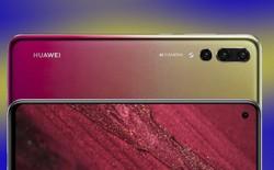 Nova 4 với màn hình đục lỗ lộ diện rõ nét trong video do chính Huawei đăng tải