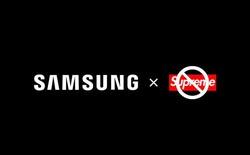 Samsung đưa ra tuyên bố chính thức về sự hợp tác với Supreme tại Trung Quốc