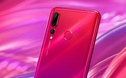 Huawei Nova 4 bản màu đỏ lộ diện, xác nhận camera sau 48MP