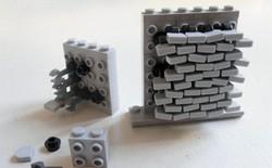 Internet đang phát cuồng với kỹ thuật lắp LEGO kiểu ngược đời
