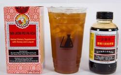 Quán đồ uống Mỹ vừa phát minh ra trà sữa vị bổ phế 5 USD/cốc, đã hợp trend lại trị ho mát họng