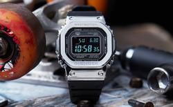 Casio tiết lộ một chiếc G-Shock làm hoàn toàn từ kim loại