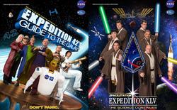 Hóa ra NASA có làm poster cho các sứ mệnh không gian, tiếc là thiết kế hơi vô duyên