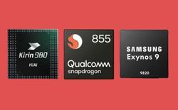 So sánh 3 chipset hàng đầu thế giới Android: Snapdragon 855 vs. Kirin 980 vs. Exynos 9820