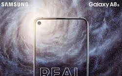 Galaxy A8s bất ngờ xuất hiện trên TENAA, camera hơi lồi, đặt dọc giống iPhone X, cảm biến vân tay sau lưng