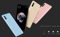 Xiaomi ra mắt Redmi Note 5 Pro: Snapdragon 636, camera kép dọc như iPhone X