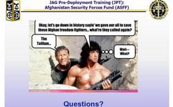 Xem các slide Powerpoint của nhân viên Lầu Năm Góc, bạn sẽ thấy trình độ Powerpoint của mình còn cao chán