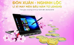 """Mừng xuân Mậu Tuất với lì xì """"khủng"""" từ Lenovo"""