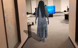 """[Video] Cùng xem Samara - con ma kinh điển trong bom tấn The Ring xuất hiện """"bằng xương bằng thịt"""" nhờ ARKit"""