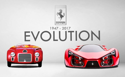 Thiết kế của xe Ferrari đã thay đổi như thế nào trong 70 năm qua?