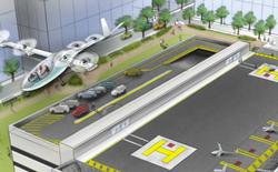 Uber sẽ tiến hành thí điểm taxi bay tại 3 thành phố, người dùng có thể đặt xe thông qua ứng dụng di động và đón xe trên... nóc nhà