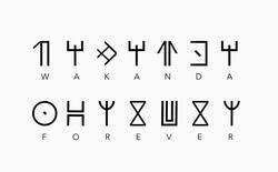 """Tải ngay bộ font """"Wakanda Forever"""" tuyệt đẹp dành cho người hâm mộ """"Black Panther"""""""