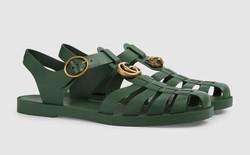 Có giá hơn 11 triệu nhưng hình như sandal của Gucci trông quá giống dép rọ bộ đội của nước ta thì phải