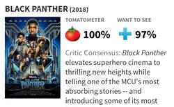 """Dù bị fan DC lăm le """"dìm hàng"""", Black Panther vẫn làm nên điều không tưởng: 100% đánh giá tích cực trên Rotten Tomatoes"""