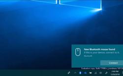 Bản cập nhật Windows 10 sắp tới sẽ đơn giản cách kết nối Bluetooth với một nút bấm