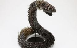 Ấn tượng với kỹ thuật uốn dây đồng tạo nên những tác phẩm điêu khắc cực ấn tượng của nghệ sỹ người Nhật