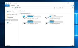 Người dùng hốt hoảng vì bản cập nhật Windows 10 April 2018 Update gán nhầm ổ khôi phục thành ổ đĩa chính