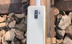 Để Galaxy S9 Plus dưới đường ray tàu hỏa và cái kết không thể đau lòng hơn