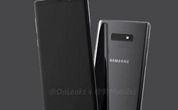Thiết kế Galaxy Note 9 chỉ có một chút thay đổi nhỏ ở mặt lưng so với Galaxy Note8?